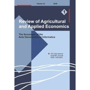 Review of Agricultural and Applied Economics
