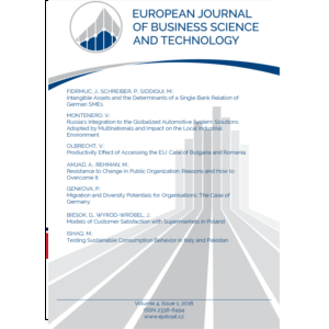 European Journal of Business Science and Technology